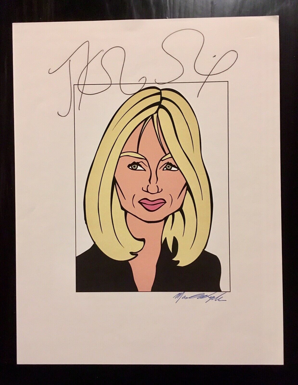 JK Rowling Forgery sold on ebay by newmanwolftraders