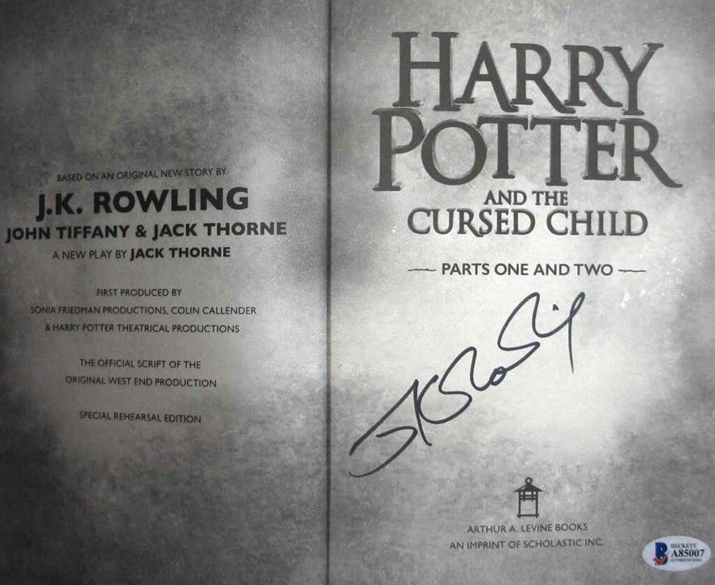 JK Rowling forgery inside a Cursed Child; still a forgery despite the BAS COA