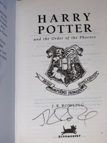 JK Rowling forgery created by Jason Cullen of Rare and Signed (and other book names)
