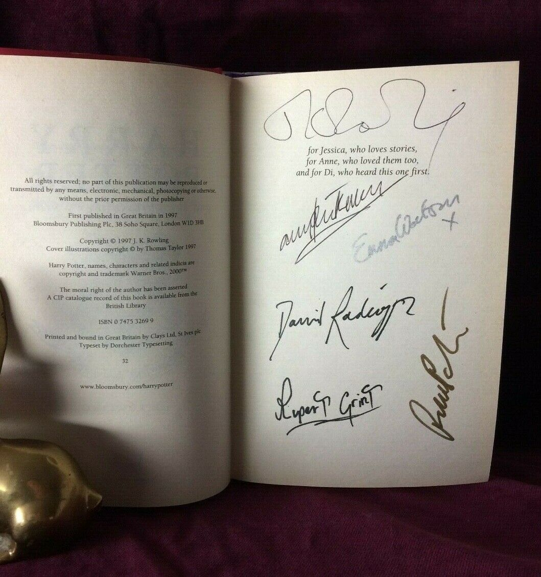 JK Rowling Forgery signature
