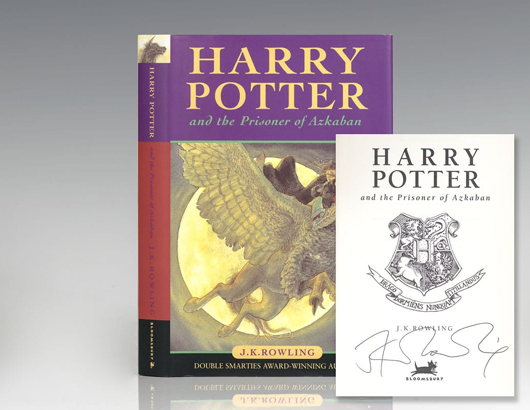 J.K. Rowling signature forgery listed for $20,000 on RaptisRareBooks.com