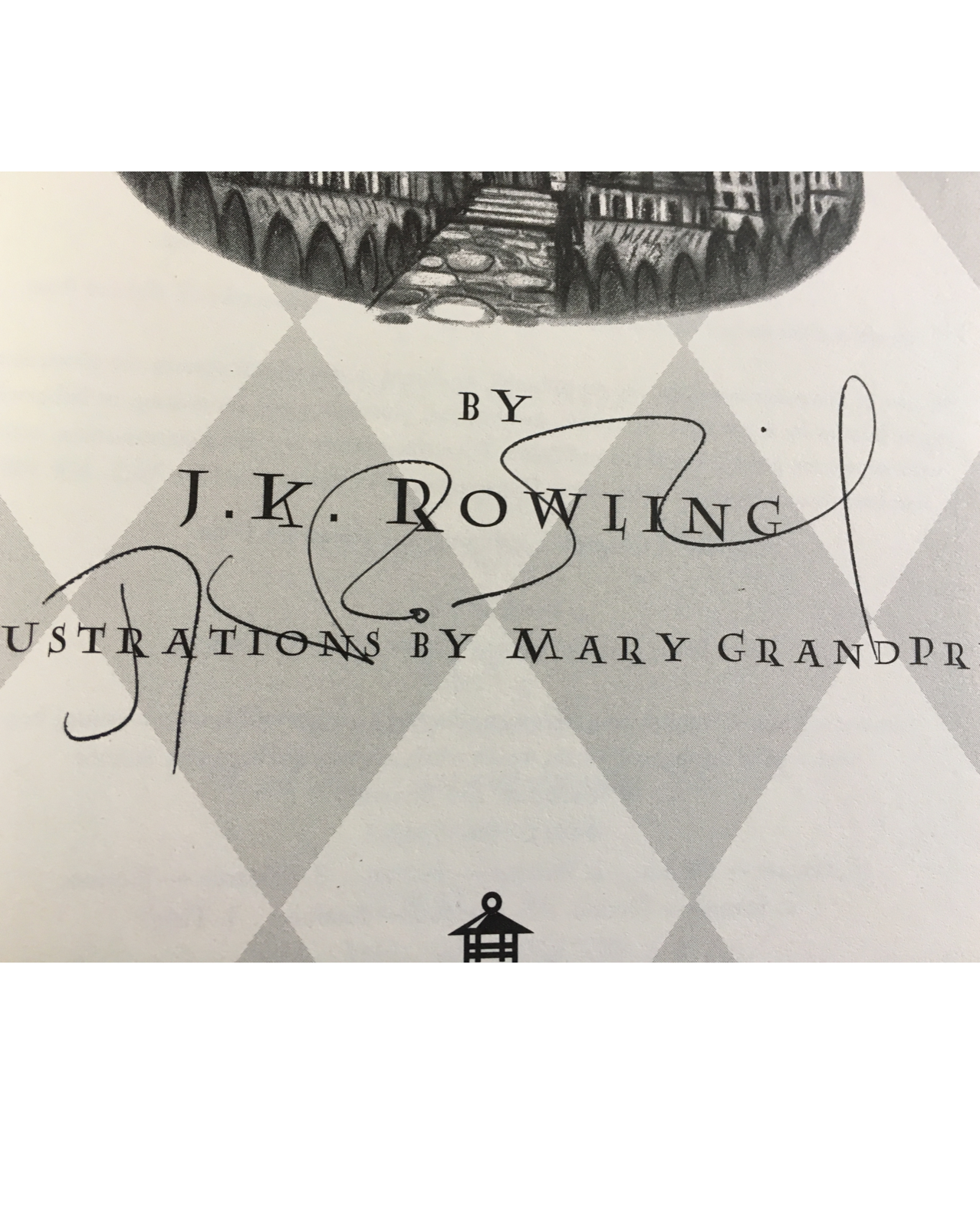 JK Rowling signature forgery found inside a Harry Potter Potter and the Sorcerer's Stone